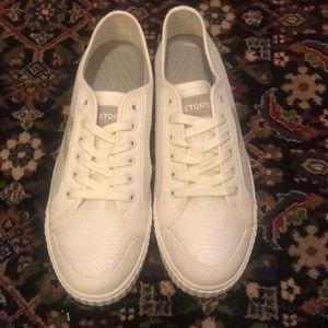 Tretorn Tournament Vintage White Mesh Sneaker NWT